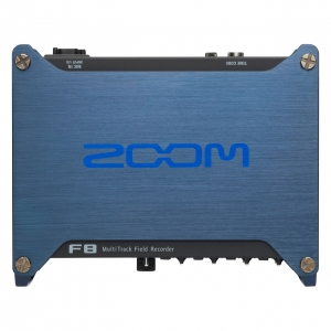 Zoom F8 Professional Field Recorder with 8-input/10-track recording, support for 24-bit/192kHz audio and time code