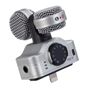 Zoom iQ7  Mid-Side Stereo Condenser Mic for iOS devices