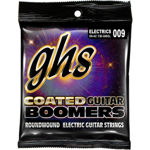 GHS EL GTR,COATED BOOMER,EXTRA LIGHT,009