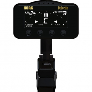 Korg Dolcetto AW-3M - Clip-on tuner/metronome for orchestral instrumentsn