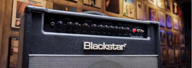 Blackstar HT Club 40  Angled Cropped Controls