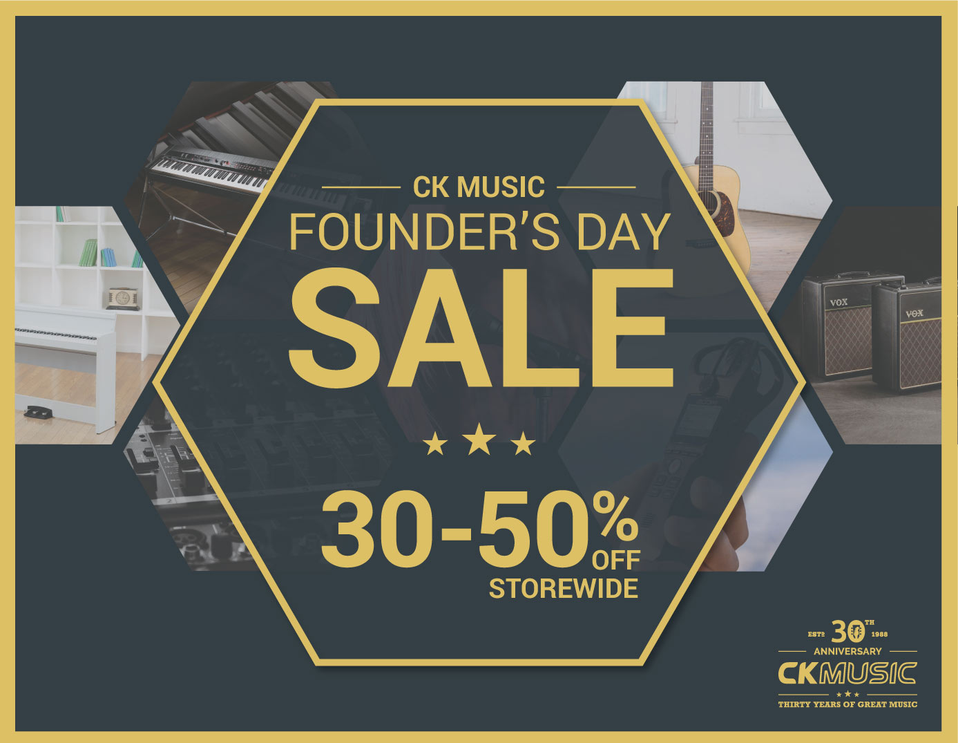 CK Music Founder's Day
