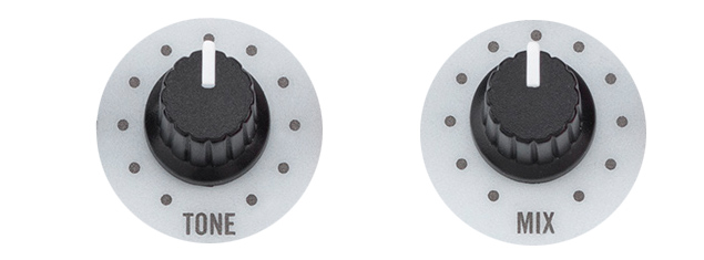 Hartke Bass Attack 2 - Tone Mix Knobs