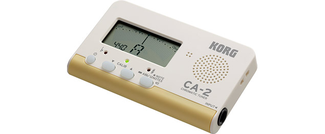 Korg CA-2 Chromatic Tuner - Front Angle