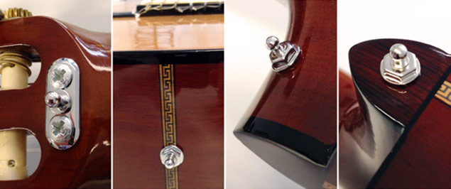 LOXX Strap Lock Installation for Acoustic Guitar